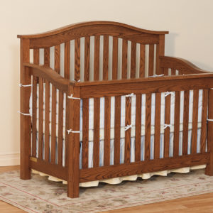 Arched Top Crib