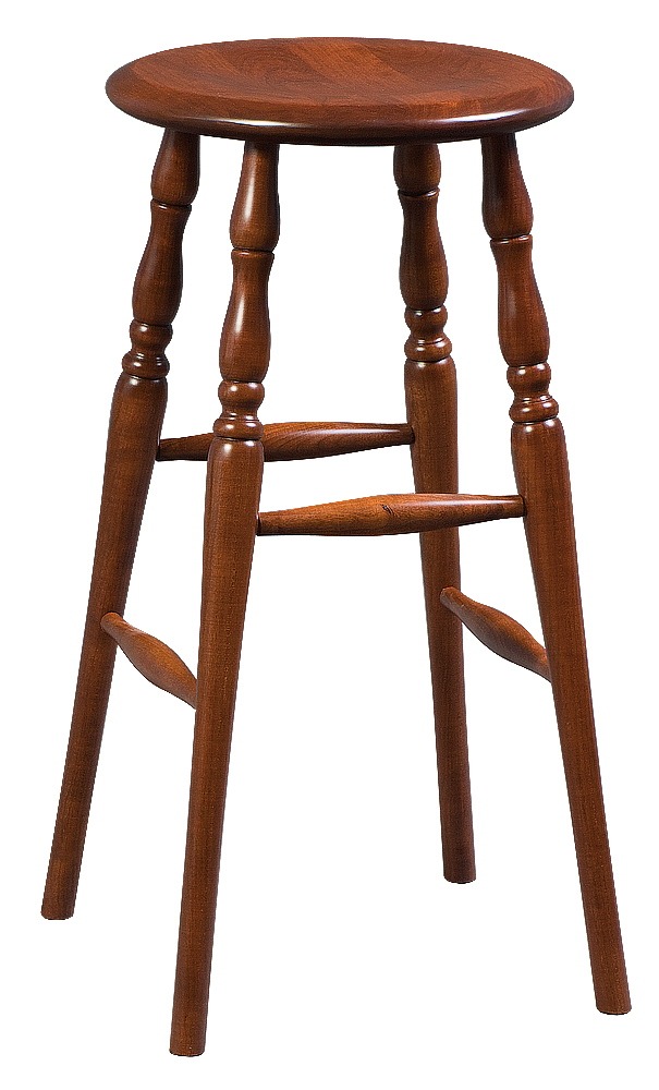 30 Quot Bar Stool W Turned Detail Legs Martin S Furniture