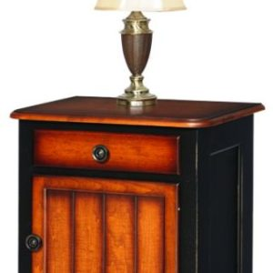 Madison Manor Nightstand One Drawer and One Door