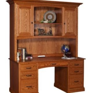 Credenza with Hutch Top