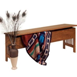 Mission Large Storage Bench