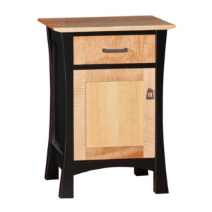 Grand Luxton Nightstand One Drawer and One Door