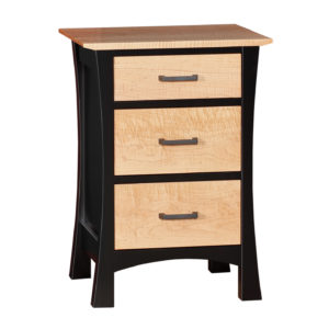 Grand Luxton Nightstand Three Drawer
