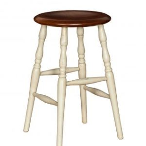 "24"" Counter Stool w/Turned Detail Legs"