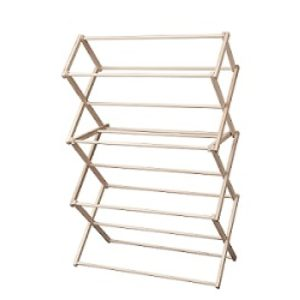 Floor Standing Collapsible Clothes Rack