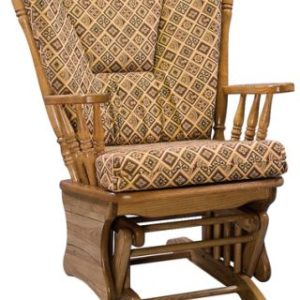 Four Post Glider with Upholstered Cushion