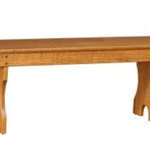 Backless Country Bench