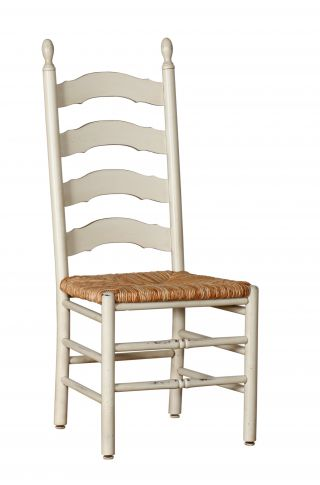 french country ladderback side chair martin s furniture