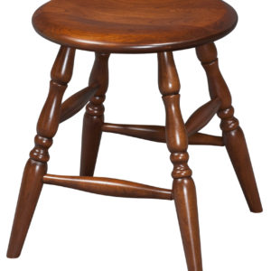 "18"" Turned Detail Leg Stool"