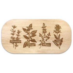 Herb Garden Serving Board