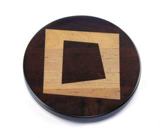 """Abstract Square 16"""" Lazy Susan"""