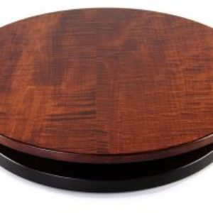 "Artisan Woods Tiger Maple 16"" & 20"" Lazy Susan"