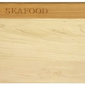 Deluxe Seafood Cutting Board