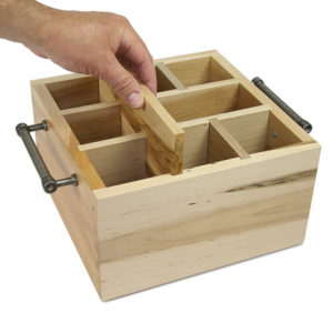 "Ambrosia Interchangable Cater Caddy (14-1/4"" x 11"" x 6""H)"