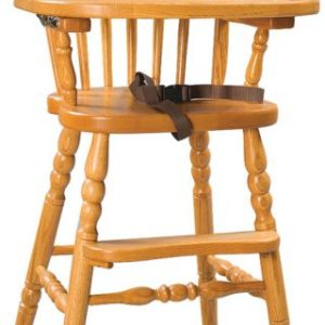 Bow Back Child's Highchair