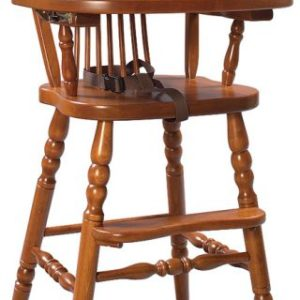 Wheat Back Child's Highchair