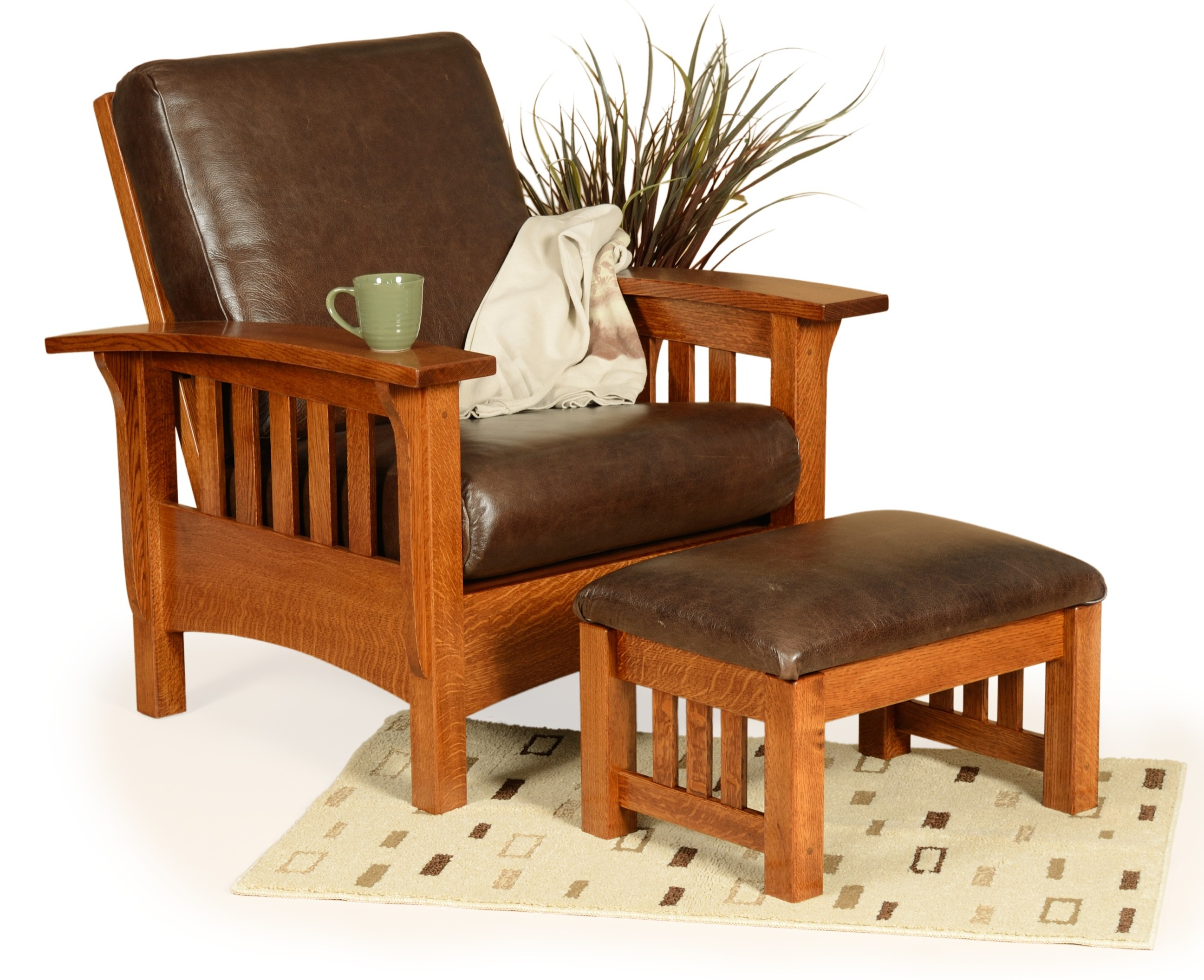 Classic Mission Morris Chair | Martin\'s Furniture