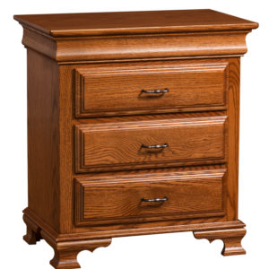 Sierra Classic Nightstand Three Drawer
