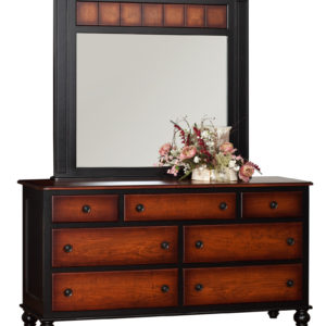 Madison Manor Double Dresser w/Accent Mirror