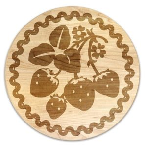 Vintage Fruit Cherry Trivet
