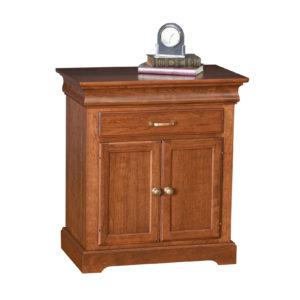 Venetian Court Nightstand One Drawer & Two Doors