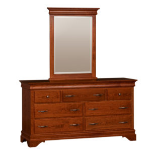 Venetian Court Double Dresser w/Mirror