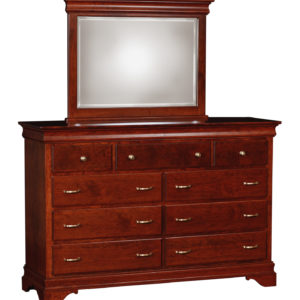 Venetian Court Ladies Double Dresser w/Mirror