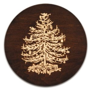 Christmas Tree Trivet Vintage Collection