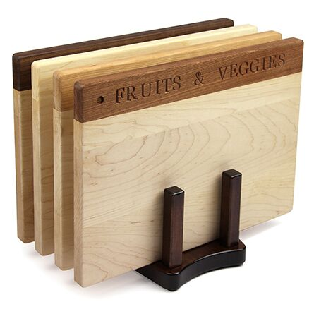 Deluxe Fruits & Veggies Cutting Board