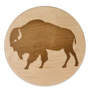Go West Bison Trivet