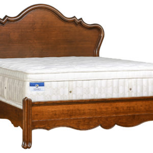 Venetian Court Panel Bed w/ Low Footboard