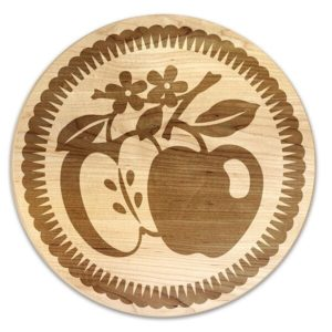 Vintage Fruit Apple Trivet