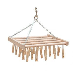 Clothespin Hanging Drying Rack