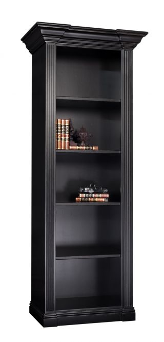 home office tuscan open bookcase