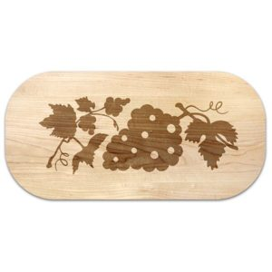 The Vineyard Grape Cluster Oval Serving Board
