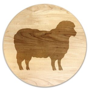 Vineyard Sheep Trivet