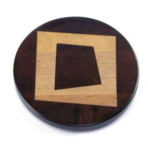 Artisan Woods Abstract Square Trivet