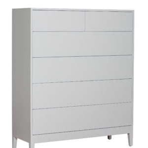 Lady in White Large Chest of Drawers