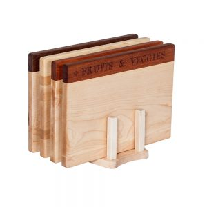 Healthy Living Complete Set of Cutting Boards Deluxe Collection