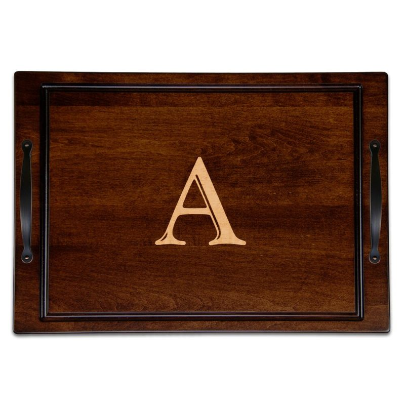 Personalized Solano Serving Tray W Handles Martin S