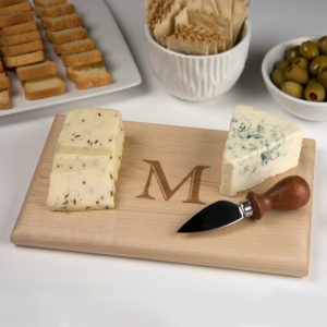 Personalized Monogrammed Cheese Board