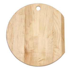 Maple Round Slant Cutting Board