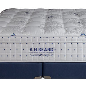 Paramount Sleep A.H. Beard Autograph Series Kalgoorie Euro Top Navy