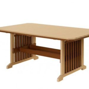 Finch Mission Poly Dining Table