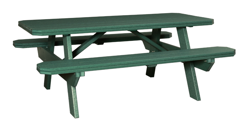 Finch Poly 72 Picnic Table
