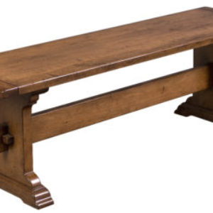 Backless Heirlooms Trestle Bench