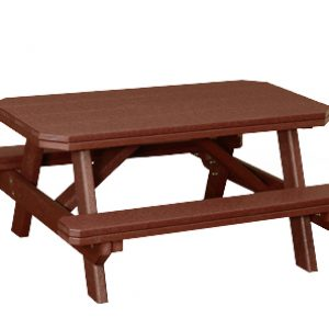 Finch Poly Child's Picnic Table w/ Benches