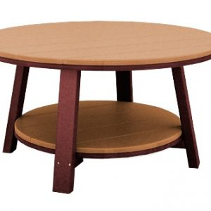 "Finch Poly SeaAira 38"" Conversation Table"