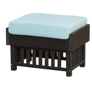 Finch Mission Poly Ottoman