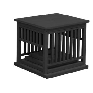 Finch Mission Poly Umbrella Stand